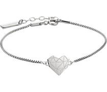 -Armband Edelstahl Silber 32003037
