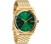 Uhren Rund Analog Quarz Gold/Grün Gold/Grün 32002473