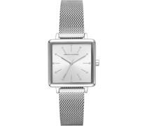 -Uhren Analog Quarz One Size Edelstahl 87756912
