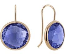 -Ohrhänger 925er Silber 2 Farbstein Blau 32002651 Ohrringe
