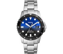 -Uhren Analog Quarz One Size Edelstahl 88056914