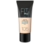 Nr. 105 - Natural Ivory Fit Me Matte & Poreless Foundation 30ml