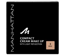 1 Stück  Nr. 3 - Beige Compact Cream Make Up Foundation