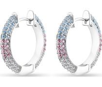 -Creolen 925er Silber 64 Kristall One Size 88161084