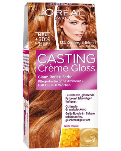 Nr. 834 - Kupfergoldblond Haarfarbe 200ml
