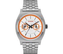 Unisex-Uhren Analog Quarz One Size Kautschuk 87064611