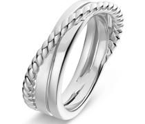 Silver-Damenring 925er Silber 53 32013602