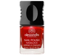 25 - Fire & Flame Hot Red Soft Brown Nagellack 10ml