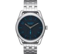 -Uhren Analog Quarz One Size Leder 32001066