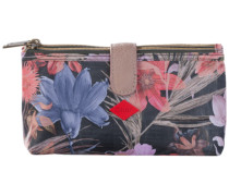1 Stück  Flower Field Double Flat Cosmetic Bag Kosmetiktasche