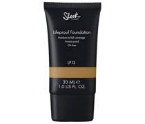 Foundation + Concealer Gesichts-Make-up 30ml Braun