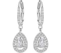 -Ohrhänger Metall Kristalle One Size 86959658