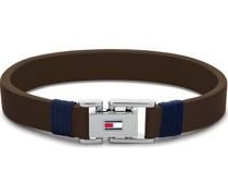 -Herrenarmband CASUAL Leder S 32013044