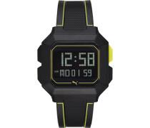 Uhren Digital Quarz Bicolor/Blau 32012485