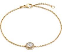 -Armband 375er Gelbgold 17 Zirkonia One Size 87753158
