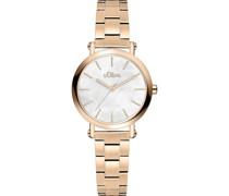 -Uhren Analog Quarz One Size Edelstahl 32011632