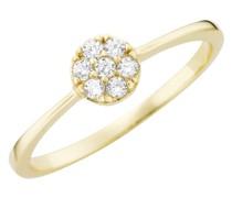 Ring mit Brillanten, Gold 585
