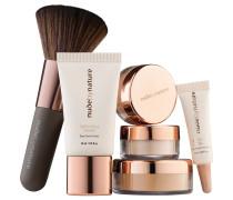 1 Stück  W4 - Soft Sand Complexion Essentials Starter Kit Make-up Set