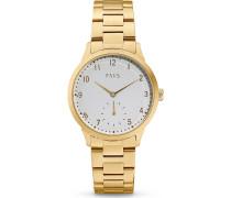 -Uhren Analog Quarz Weiß 32014890
