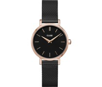 -Uhren Analog Quarz Schwarz 32013493