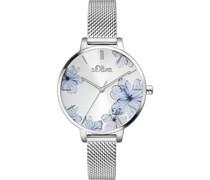 -Uhren Analog Quarz Roségold 32000981