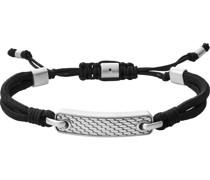 -Armband Perlon/Nylon, Edelstahl One Size 88331117
