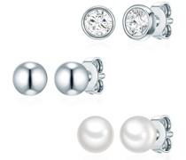 Schmuckset Sterling Silber mit Kristallen von Swarovski® Perle