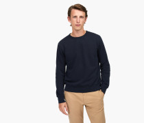 Sweatshirt in Uni navy