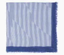 Tuch mit Streifenmuster indigo blue