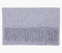 Wollschal grey heather melange