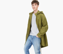 Fishtail Parka tropical green