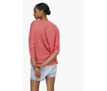 Shirt aus Leinen berry gum