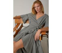 Kleid aus italienischem Baumwolle & Leinen Mix