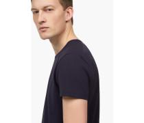 T-Shirt aus Pima Baumwolle navy