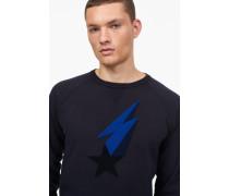 Sweatshirt mit Shooting Star navy