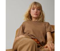 Strickshirt aus Leinen & Baumwolle