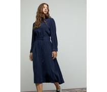 Kleid aus Cupro & Viskose
