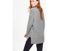 Pullover aus Royal Baby Alpaka grey heather melange