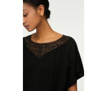 Kleid mit Spitze black