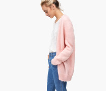 Cardigan mit Mohair-Anteil candy