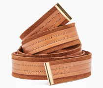 Bindegürtel aus Leder cinnamon