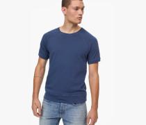 Kurzarm Sweatshirt indigo blue