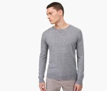 Kaschmir Sweatshirt light grey melange
