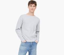 Full Milano Pullover light grey melange