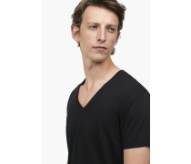 Basic V Neck Shirt black