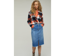 Pencil Skirt aus Organic Denim