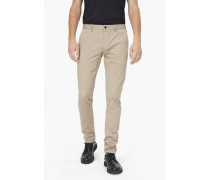 Clifton Skin Stretch Twill Chino highland clover