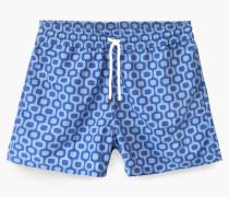 Gemusterte Badeshorts von Frescobol Carioca für  sea blue
