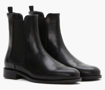 Boots aus Leder black