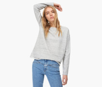 Oversized Sweatshirt warm grey